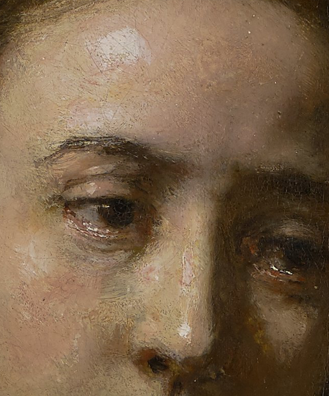 Lucretia, detail of face