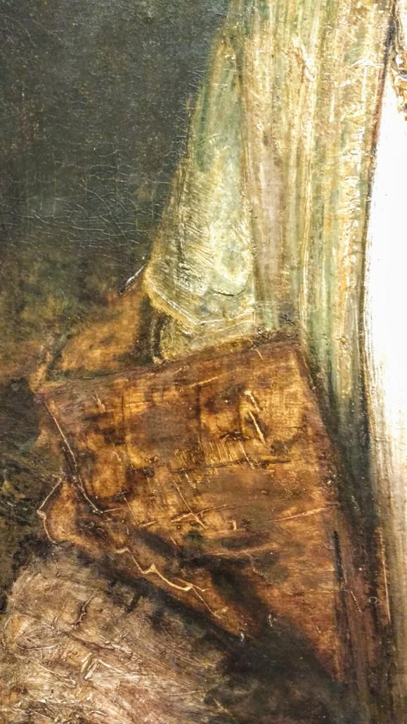 Lucretia, detail of sleeve
