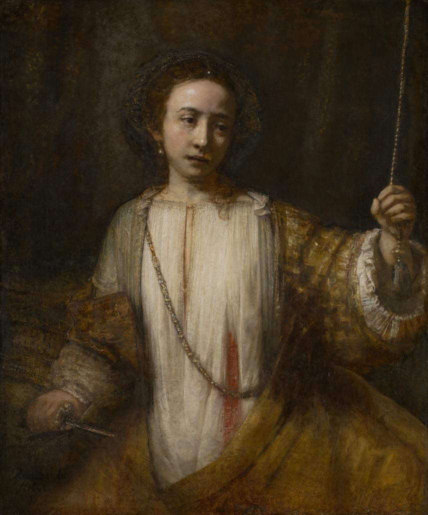 Lucretia, 1666