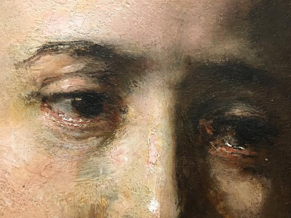 Lucretia, detail of eyes
